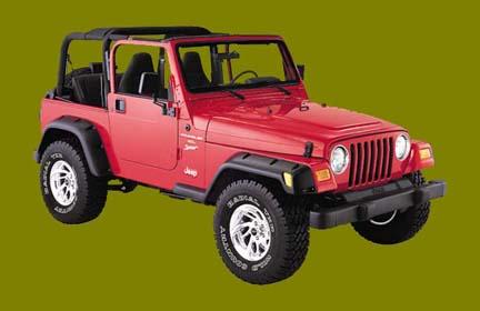 Jeep Wrangler Tj Lift Kit Body Lift Suspension System