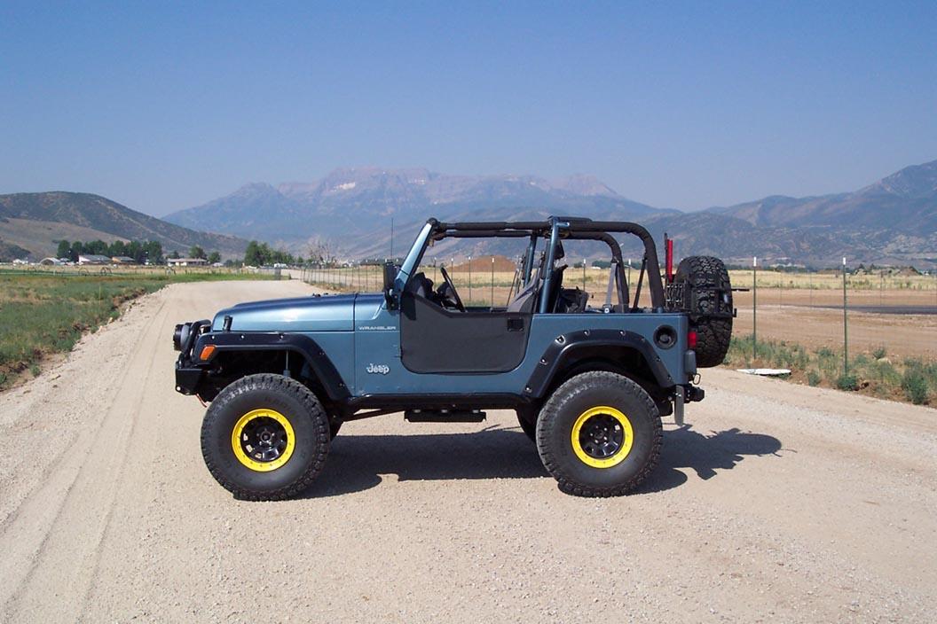 "Cheap Jeep Cherokee Lift Kits Jeep Wrangler TJ, Old Man Emu 4"" lift, 97-06, THE BEST | eBay"