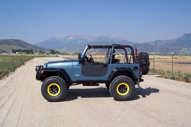 "jeep wrangler tj, old man emu 4"" lift, 97 06, the best | ebay"