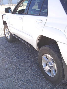 4 runnder rock sliders; 4th generation 4runner