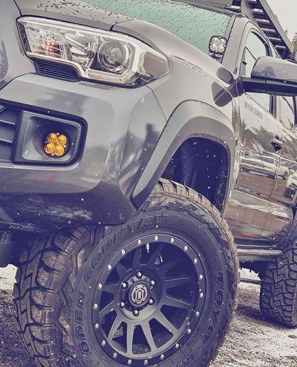Toyota TRD Rock Sliders