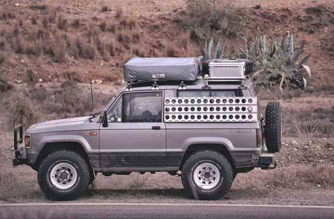 Isuzu lift kits, racks, rock sliders, offroad: Isuzu Off