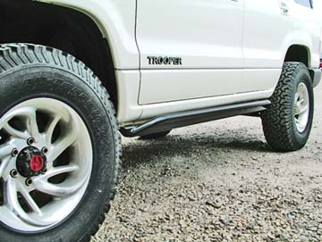 isuzu trooper rock sliders