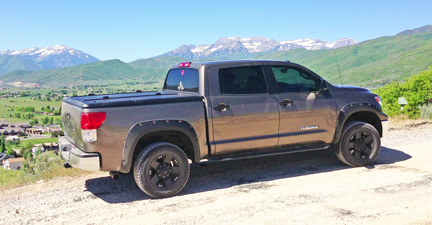 toyota tundra rock sliders