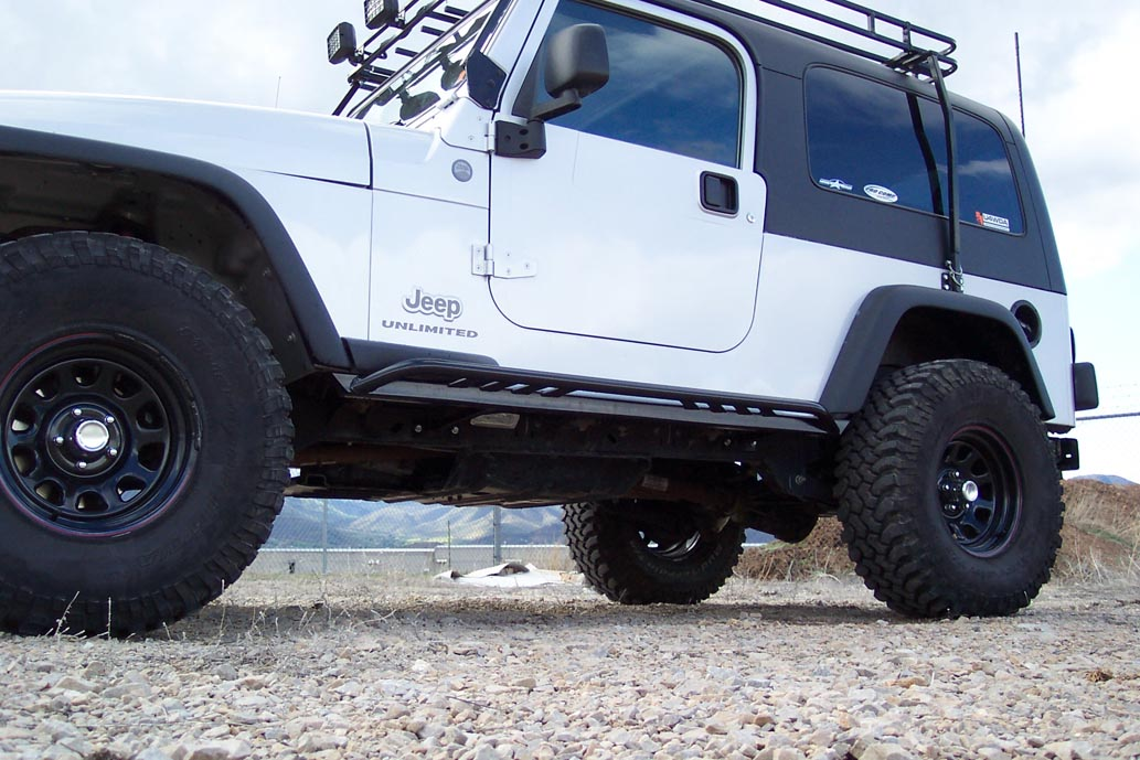 Jk Rock Sliders http://www.rocky-road.com/jeep-rock-sliders.html