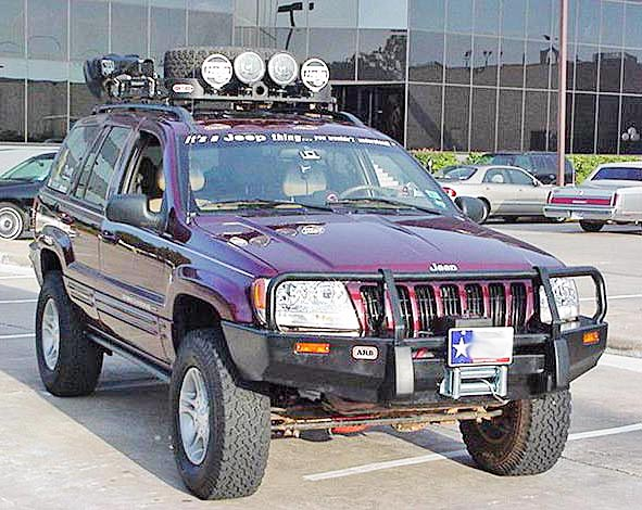 wj grand cherokee ARB bull bar