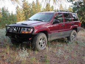 Jeep Grand Cherokee Lift Kit