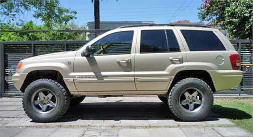 WJ lift kit