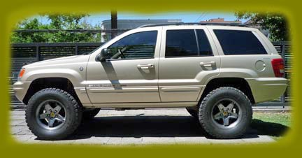 Grand Cherokee Lift Kits Suspension Parts Jeep Grand Cherokee Lifts