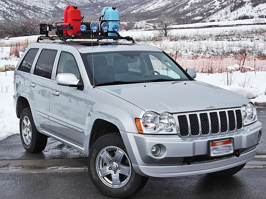 Jeep Grand Cherokee Roof Rack: 05-10 Jeep Grand Cherokee ...