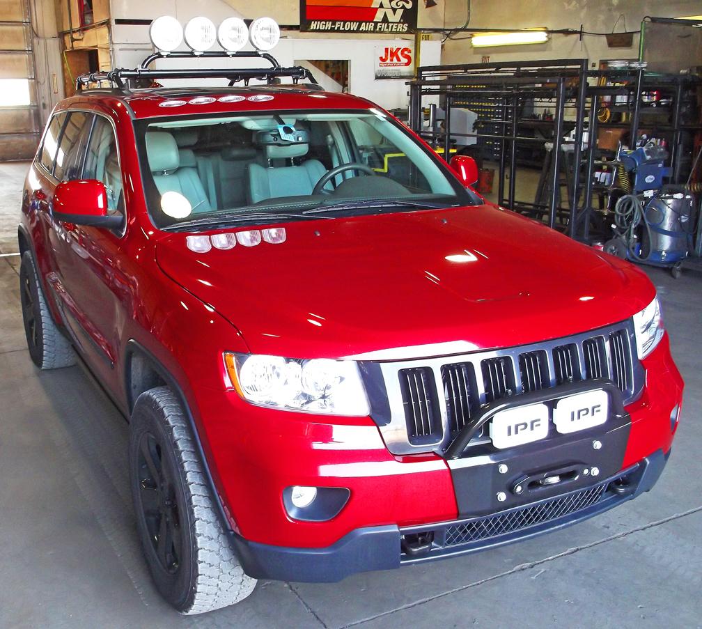Jeep Grand Cherokee Bumper Kits Wk2 2011 2012 2013