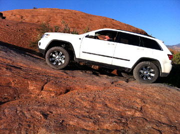 Lifted 2011 2012 Grand Cherokee in Moab