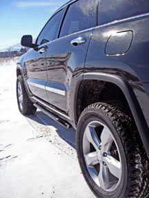 2011 Grand Cherokee rock slider