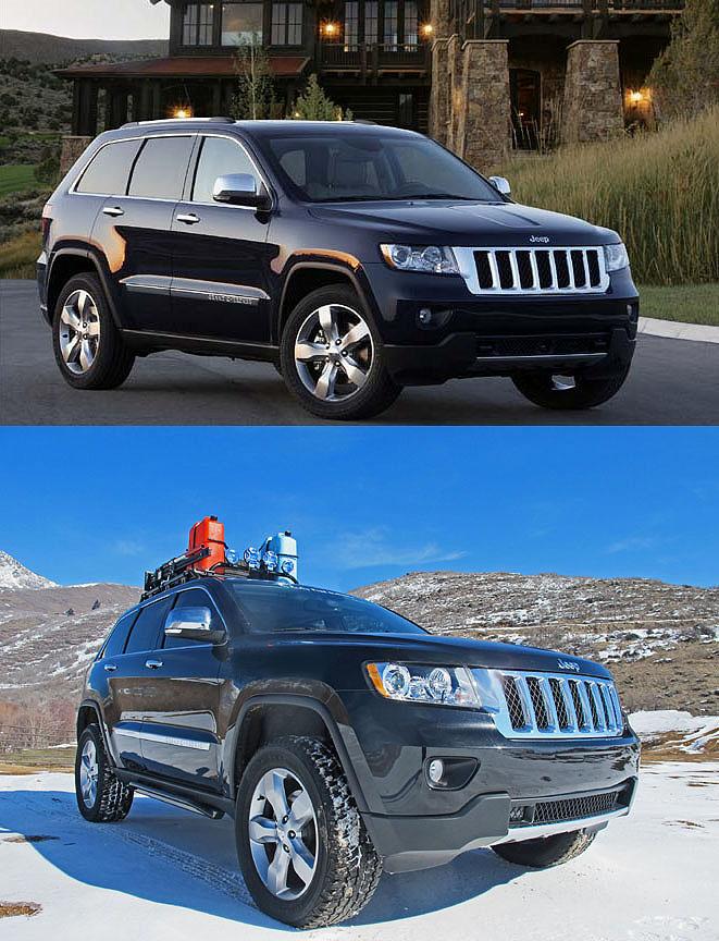Jeep Grand Cherokee, WK2 lift kit... 2011, 2012, 2013 ...