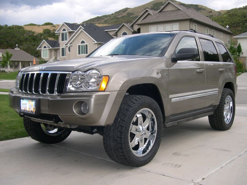 Lift kit, Jeep Grand Cherokee, WK 2005, 2006, 2007, 2008, 2009,