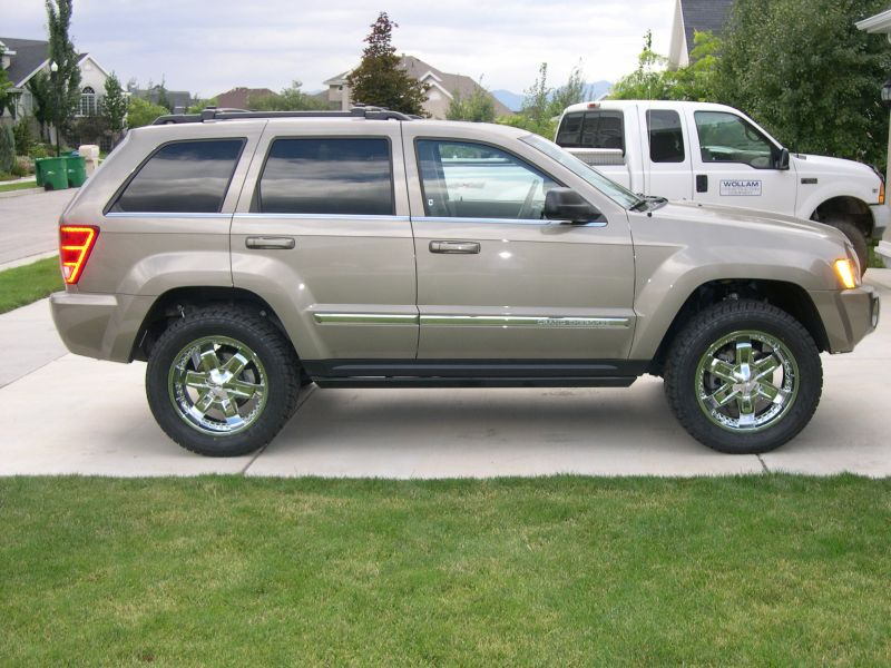 Lifted Jeep Srt8 >> WK Lift kit, Jeep Grand Cherokee, WK 2005, 2006, 2007, 2008, 2009, 2010 Suspension lift