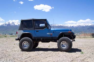 Lift Kits For Jeeps >> YJ SOA: Spring Over Axle for Jeep YJ, SOA