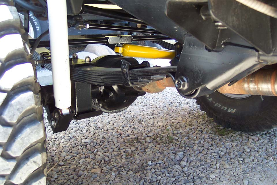 YJ SOA: Spring Over Axle for Jeep YJ, SOA