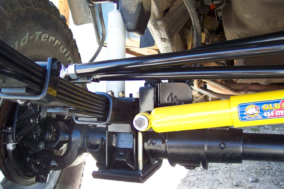 Yj soa spring over axle for jeep yj soa