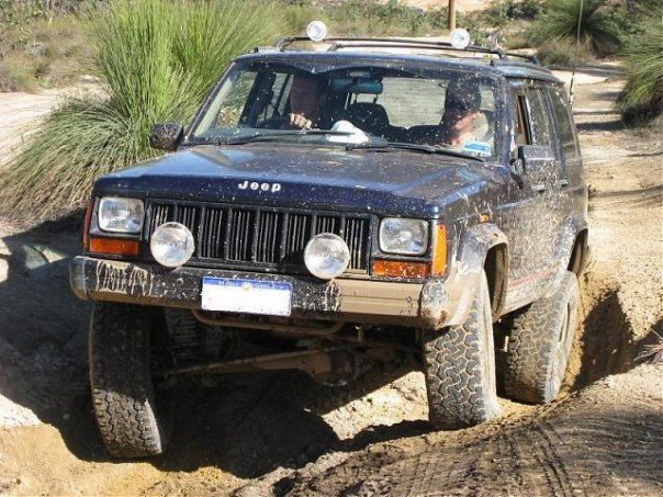 XJ Budget Lift: Jeep Cherokee XJ Budget Lift Kit