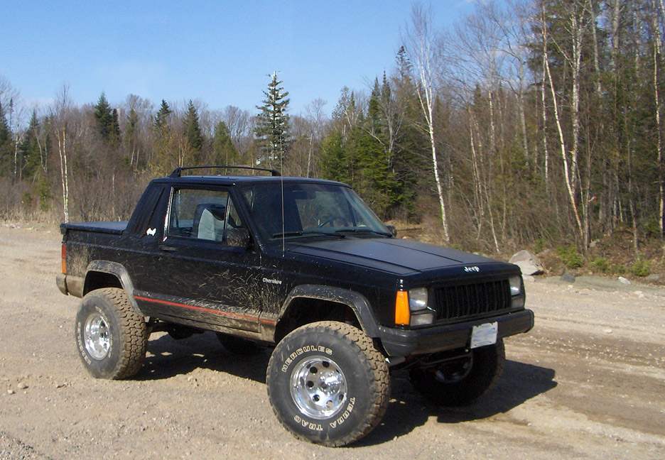 Lifted Jeep Cherokee