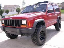 XJ Budget Lift: Jeep Cherokee XJ Budget Lift Kit