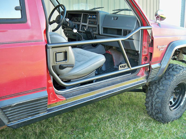 Xj Tube Doors 84 01 Jeep Cherokee Tube Doors Half Doors