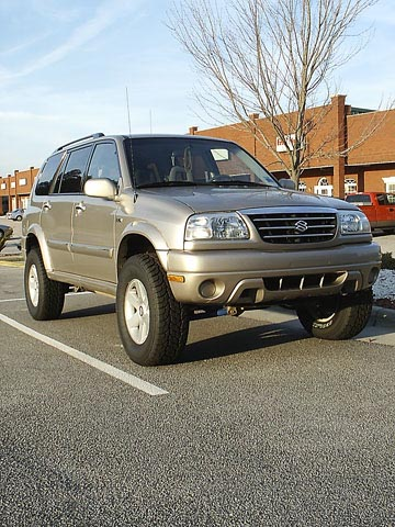 Tracker Lift: Sidekick, Vitara, XL7, X90, Tracker Lift Kit