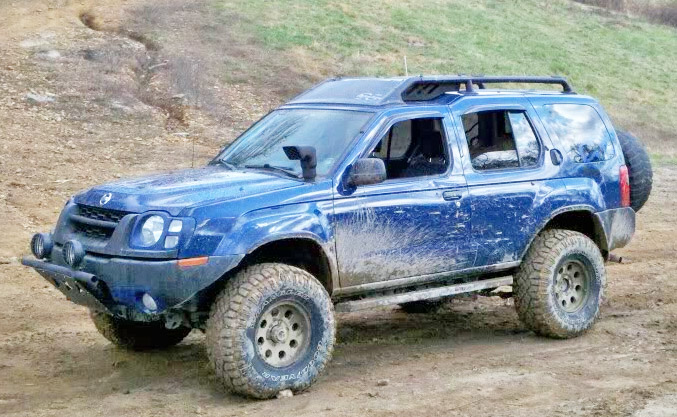 xterra body lift