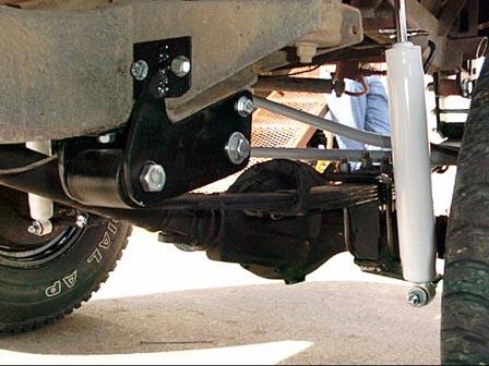 Suzuki Samurai Jeep Bumper Mount Conversion
