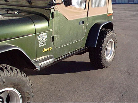 Jeep YJ Rock Sliders