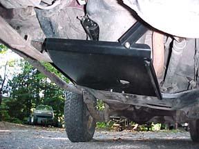 Jeep Cj Amp Wrangler Skidpates Protection Diamond Plate