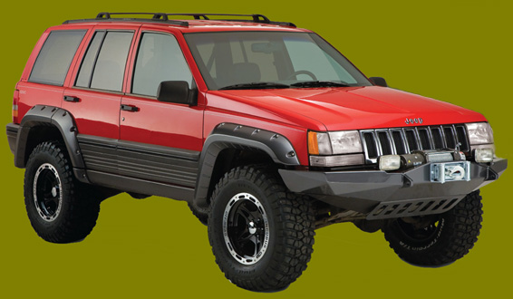 Grand Cherokee Offroad Parts Jeep Grand Cherokee 4x4 4wd