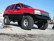 Jeep Grand Cherokee lift kit, suspensions, Commander