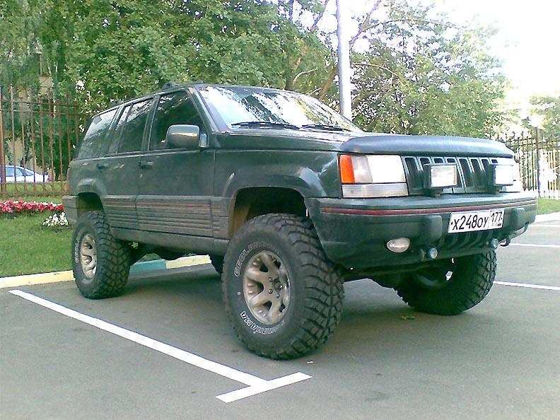 ZJ Lift Kit: 1993-98 Jeep Grand Cherokee ZJ Lift Kit